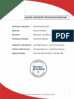 Informe análisis de vibraciones Cempro 06-12-17 (Diciembre 2017)