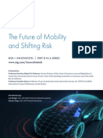 AIG the Future of Mobility and Shifting Risk