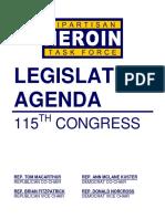 Heroin Task Force Agenda for 2018