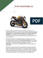 Conducción de Motocicletas Con Fisica