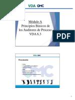 Modulo a Princ. Básicos Aud de Proceso VDA 6.3