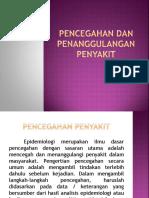 Pencegahan Dan Penanggulangan Penyakit