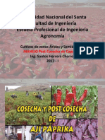 Post-cosecha Capsicum 2017