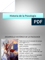 Desarrollo Historico de La Psicologia