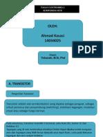 Ahmad Kasasi (14034025)