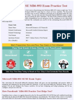 Microsoft Solutions MB6-893 Practice Exam - Updated 2018