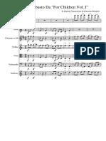 Allegro Robusto Da for Children Vol. I