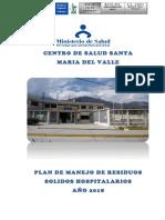 Plan de Manejo de Rsh Valle 2018
