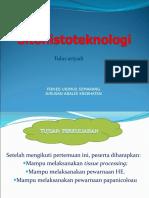 Teori SITOHISTOTEKNOLOGI