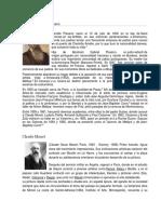 Biografía de Camille Pissarro y Otros Artistas