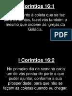 I Corintios - 016