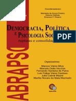 Democracia, política e psicologia social