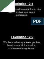 I Corintios - 012