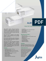 Agilis Satcom ALB180 10W C Band VSAT Block Upconverter