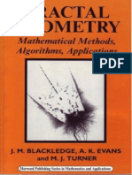Jonathan M Blackledge, A.K. Evans, Martin J Turner Fractal Geometry Mathematical Methods, Algorithms, Application