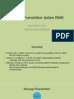 2.1 Konsep Pranombor