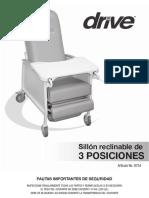 Manual Sillón Hemodiálisis D574