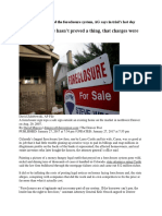 Castle Law Firm Cheated the Foreclosure System