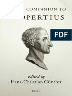 [Hans-Christian Gunther] Brill's Companion to Propertius