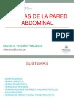 Hernias en La Pared Abdominal