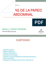 Hernias en La Pared Abdominal