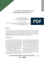 Análise Teórico-experimental Prateleiras