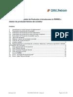 Anexa a-Elaborarea Potențialului de Producție Si Introducerea Datelor in PIMMS