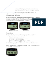 Rds-30 Operation Manual
