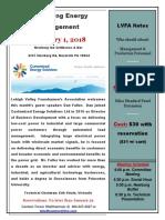 LVFA February 2018 Flyer