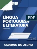 CadernoDoAluno 2014 2017 Vol2 Baixa LC LinguaPortuguesa EM 3S