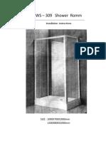Instrucciones Instalacion de Cabina y Torre Ducha