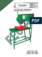 a3-g02 Manual Operacion y Mantenimiento Cortadora de Ladrillo Fc-16