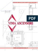Misure e Dimensioni Vano Ascensore Idraulico