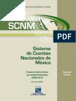 34-50, 256-259, 280-283 INEGI SCNM Año base 2003