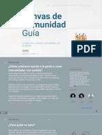 Spanish Translation - Community Canvas Guidebook