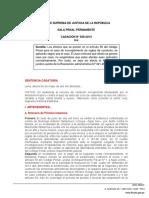 CASACIÓN N° 656-2014 - ICA - Aplicación de los efectos previstos en el artículo 59 del Código Penal ante el incumplimiento de reglas conductas - D. J.