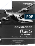 FlightSafety Commander Jetprop Training Manual Volume 2 Aircraft Systems