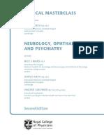 Neurology Ophthalmology Psychiatry Medical Masterclass