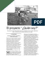 Proyecto Quien Soy
