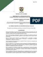 Acuerdo 267-04 Csss
