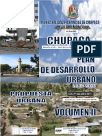 Memoria Descriptiva - Propuesta Pdu - Chupaca
