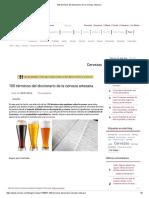 100 Términos Del Diccionario de La Cerveza Artesana
