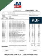 Cotizacion Aceite Amsoil Sintetico(1)