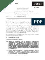 120-17 - ALIANZA CONSTRUCTORA de OBRAS SAC - Acreditación de Experiencia Del Postor Como Requisito de Calificación Para Ejecución de Obras (T.D. 10715459)