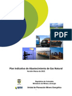 Plan Indicativo Gas Natural 2015