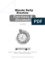5 Minute Math Daily