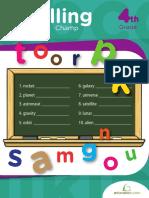 Spelling Champ - Grade 4