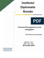 Uniunea Europeana Si Criza Refugiatilor, Leana Racheru
