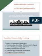 Assessing Your Choir Through Chamber Music
