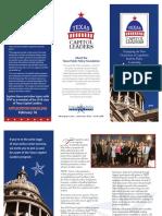 TX Cap Leaders Brochure 2018